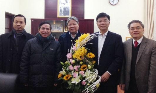 Chúc mừng Thứ trưởng Lê Thành Long trúng cử BCH TƯ Đảng khóa XII