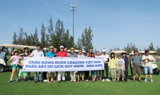 Đoàn Caravan TP. Hồ Chí Minh đến sân golf FLC Quy Nhơn Golf Links