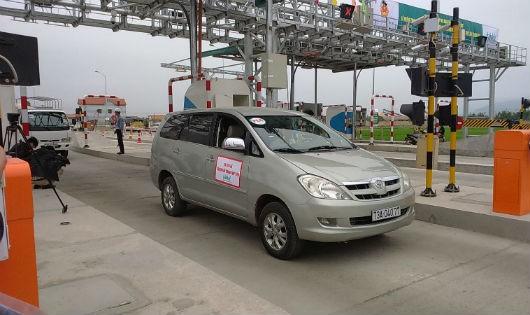 Trạm thu phí tại Km604+700 (Quảng Bình) là 1 trong 3 trạm thí điểm công nghệ ETC