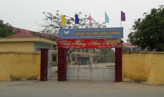Trường Tiểu học Đặng Cương - nơi đang xảy ra nhiều lùm xùm