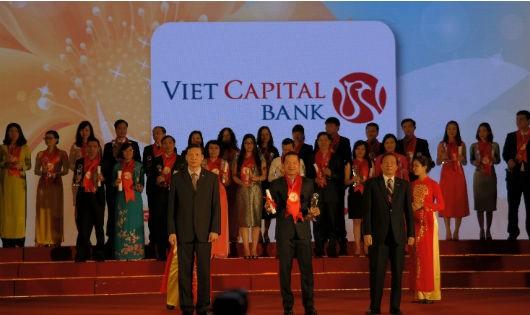"""Viet Capital Bank nhận giải """"Thương hiệu mạnh Việt Nam"""""""