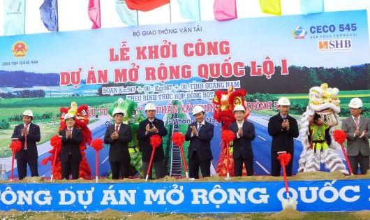 Năm 2015, Ceco 545 đã hoàn thành Dự án BOT QL1 đoạn qua Quảng Nam vượt tiến độ 7 tháng