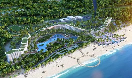 FLC Quy Nhơn là một dự án được thiết kế tuyệt đẹp nằm trên vị trí đắc địa