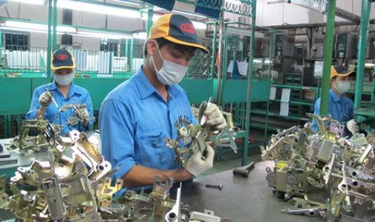 Lao động Việt Nam làm việc tại Hàn Quốc. Ảnh minh họa