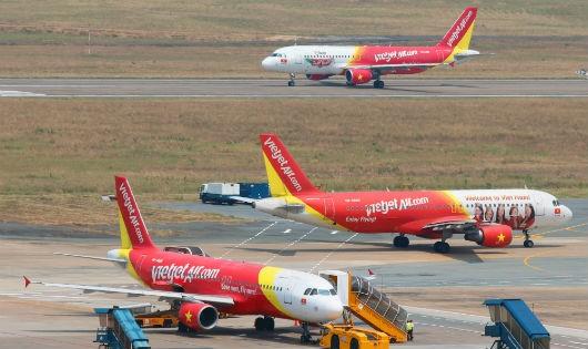 Vietjet tăng tần suất khai thác các đường bay dịp Lễ 30/4 – 01/5/2016