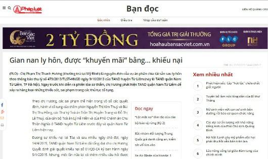 """Quận Nam Từ Liêm (Hà Nội): Nguyên đơn """"kiệt sức"""" bởi…Tòa """"hành""""!"""