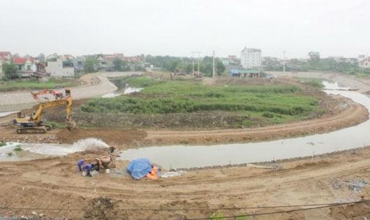 Dự án cải tạo nâng cấp hồ Cửa Nam đang được thi công từng xảy ra việc cấp sai sổ đỏ dẫn đến đền bù sai đối tượng