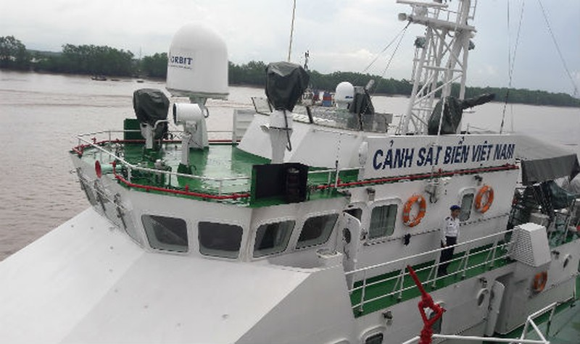 Lực lượng Vùng Cảnh sát Biển 1 thực hiện tuần tra, kiểm soát