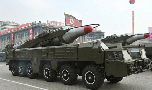 Triều Tiên phóng thử nghiệm tên lửa Musudan