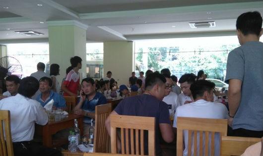 Thị xã Sầm Sơn (Thanh Hóa): Biến nhà đa năng phục vụ bóng đá thành nhà hàng