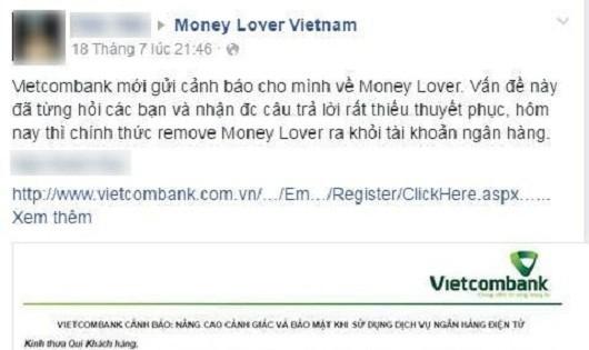 """Thực hư chuyện Startup Việt Money Lover bị tố """"ăn cắp"""" thông tin người dùng"""