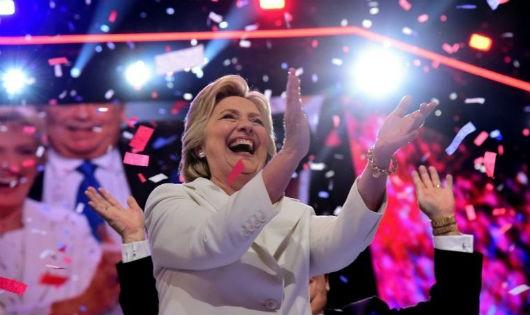 Bà Hillary Clinton - nữ ứng viên tổng thống đầu tiên của một đảng chính trị lớn