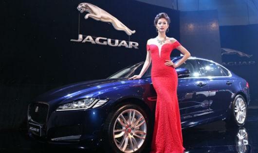 Xe sang Jaguar XF thế hệ mới có mặt tại Việt Nam