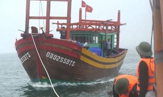 Bộ đội biên phòng Quảng Bình vững vàng bảo vệ chủ quyền biển
