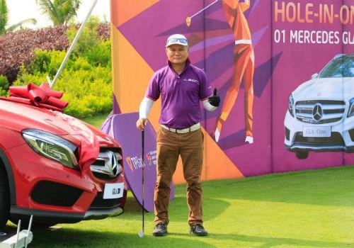 TPBank WAGC 2016: Golfer Đường Ngọc Dương giành giải thưởng HIO vòng loại phía Bắc