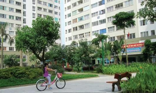 Nhà ở xã hội ở khu đô thị Đặng Xá, Gia Lâm, Hà Nội