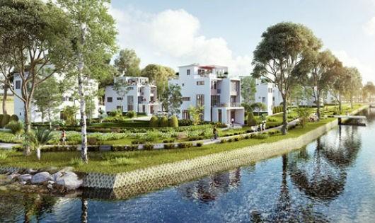 Park Riverside hiện được coi là dự án biệt thự - nhà phố biệt lập ven sông đẹp hàng đầu khu Đông Tp.HCM