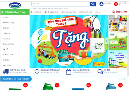 Trong đợt ra mắt chính thức vào tháng 10 này, Giấc Mơ Sữa Việt đang có đợt khuyến mãi 5%, chương trình mua 1 tặng 1, và các quà tặng hấp dẫn khác
