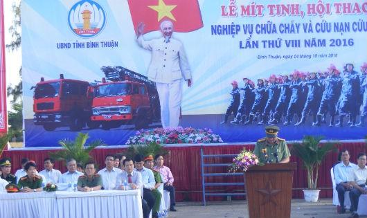 Bình Thuận: Kỷ niệm 55 năm ngày truyền thống lực lượng Cảnh sát PCCC