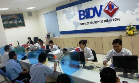 BIDV là ngân hàng mới lọt vao Top 10 của Bảng xếp hạng V.1000