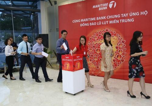Cùng Maritime Bank chung tay ủng hộ đồng bào miền trung