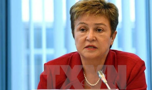Bà Kristalina Georgieva. (Nguồn: AFP/TTXVN)