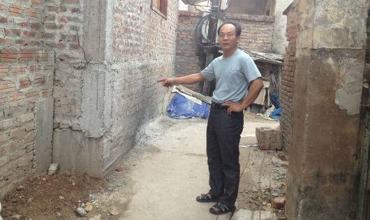 """Đan Phượng, Hà Nội: Xã """"bật đèn xanh"""" cho một hộ dân lấn chiếm ngõ đi chung?"""