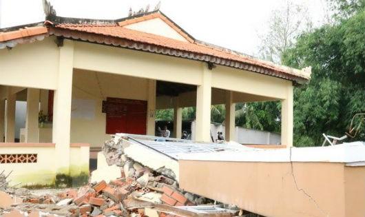 Đồng Nai: Sụt lún đất kéo dài, nhiều công trình đổ sập