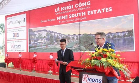 Khởi công xây dựng khu biệt thự ven sông Nam Sài Gòn