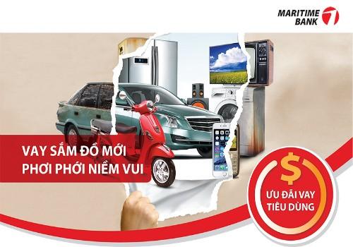 Maritime Bank dành nhiều ưu đãi hấp dẫn cho vay tiêu dùng dịp cuối năm