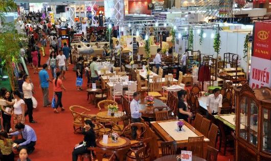 Triển lãm Quốc tế Vietbuild Hà Nội 2016 thu hút nhiều doanh nghiệp tham gia