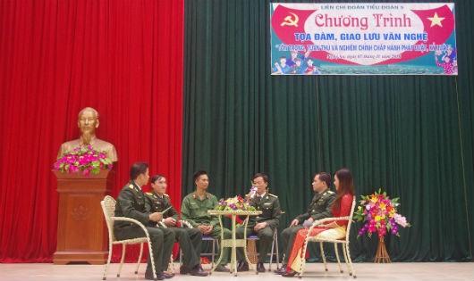 Trung đoàn 335: Đa dạng hình thức giáo dục pháp luật cho bộ đội