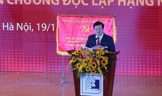 Phó Thủ tướng Trịnh Đình Dũng phát biểu tại Lễ kỷ niệm.