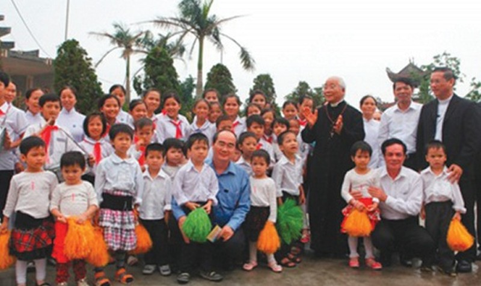 Thánh đường của những em bé mồ côi