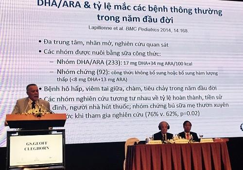 Mead Johnson và nỗ lực cải tiến hiệu quả DHA/ARA cho sự phát triển trí não của trẻ em