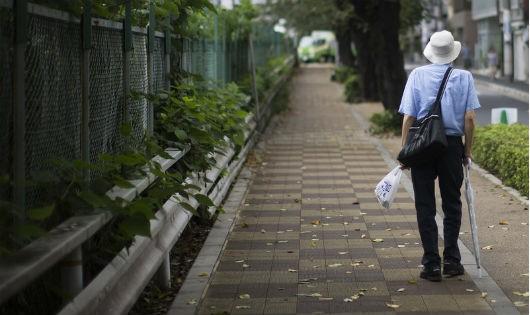 Nhật báo động tình trạng phạm tội ở người già