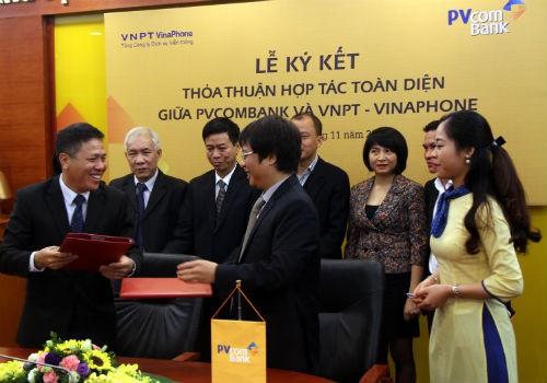 PVcomBank và VNPT - Vinaphone thoả thuận hợp tác toàn diện
