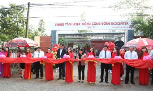 Coca – Cola đưa Trung tâm hoạt động cộng đồng EKOCENTER đến Bến Tre
