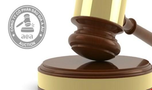 Cty CP Đấu giá Á Âu thông báo bán đấu giá tài sản