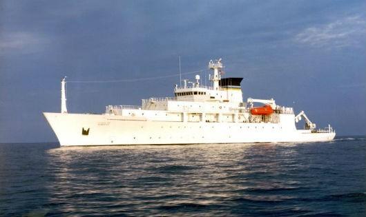 UUV của Mỹ bị Trung Quốc lấy đi khi chuẩn bị được tàu Bowditch (ảnh) thu hồi