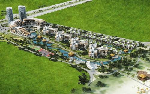 Phối cảnh dự án Khu du lịch Manna Luxury Holidays .(nguồn: www.manna.vn)