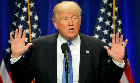 Tổng thống đắc cử của Mỹ Donald Trump