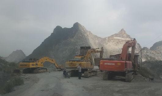 Công ty Nam Sơn đã đầu tư hàng chục tỷ đồng vào khu mỏ