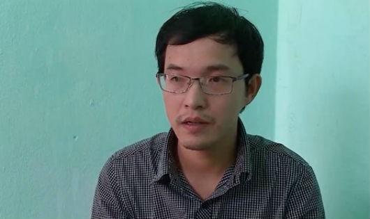 Đối tượng Nguyễn Danh Dũng. Ảnh Vietnamnet