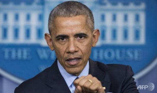 Ông Obama vừa công bố các biện pháp trừng phạt Nga