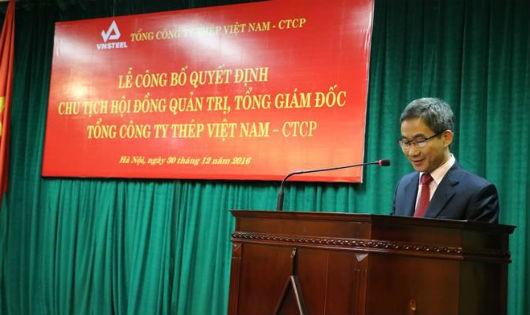 Tổng Cty Thép Việt Nam có Chủ tịch Hội đồng Quản trị mới