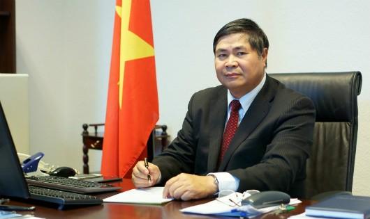 Đại sứ Đoàn Xuân Hưng. Ảnh: Đại sứ quán Việt Nam tại Đức