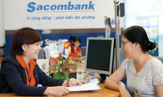 Sacombank có kết quả kinh doanh khá khiêm tốn trong năm 2016. Ảnh minh họa