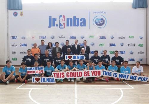 Nhãn hàng Cô Gái Hà Lan đồng hành cùng Jr.NBA Việt Nam lần thứ 4