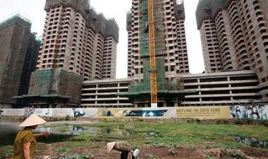 500 dự án BĐS ở TP Hồ Chí Minh bị ngừng triển khai tiềm ẩn nhiều hệ quả rủi ro cho thị trường.  ̣̣Ảnh minh họa
